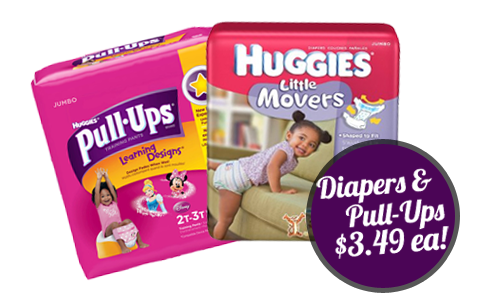 cvs deal diapers pull ups for 349