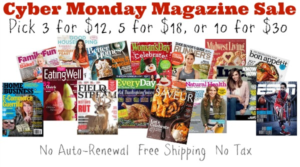 cyber monday discountmags