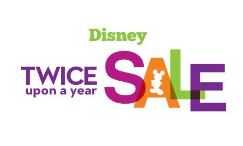 disney twice a year sale