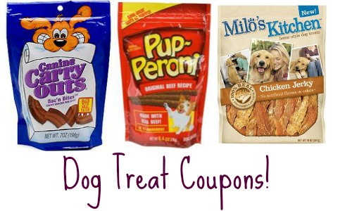 new dog treat coupons
