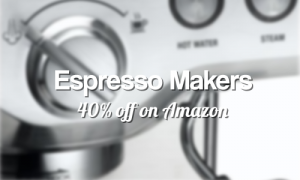 espresso makers 40 off amazon