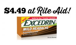 excedrin deal