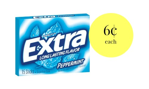 extra gum coupon