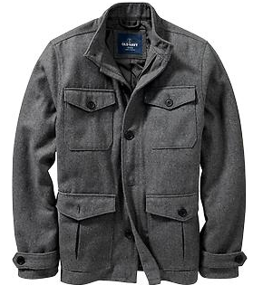 four pocket jacket old navy mens