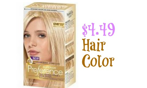 image relating to Printable Hair Color Coupons identify LOreal Decision Coupon $4.49 Hair Colour At Ceremony Guidance