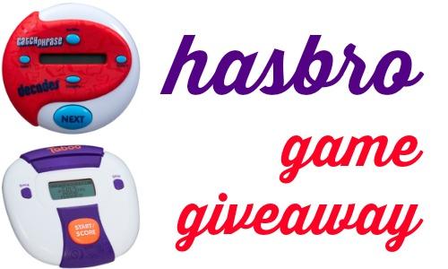 hasbro game giveaway