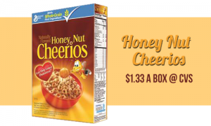honey nut cheerios at cvs