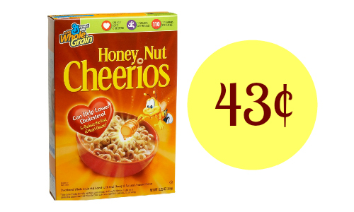 honey nut cheerios deal