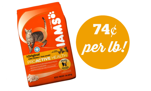 iams cat food deal