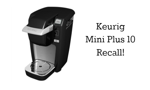 keurig mini plus 10 recall