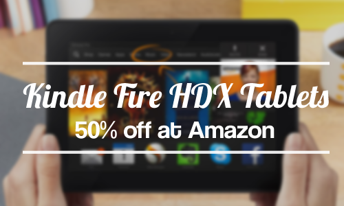 kindle fire 50 off tablets amazon deal