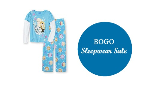 kmart bogo sleepwear sale