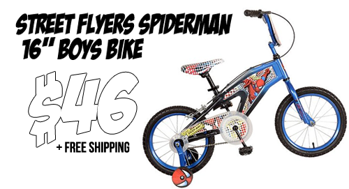 kohls spiderman bike 2