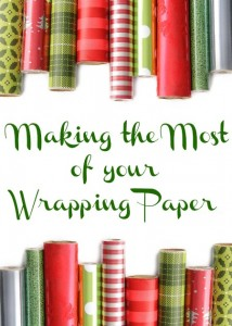 making the most of your wrapping paper