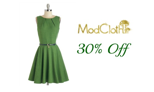 modcloth coupon code