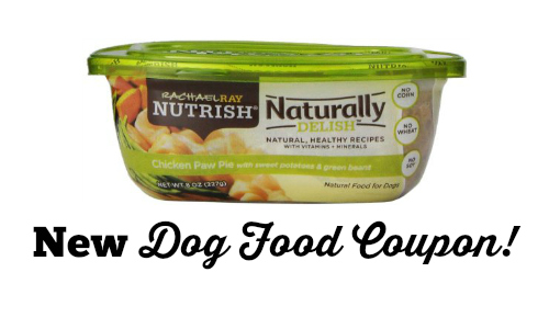 new dog food coupons