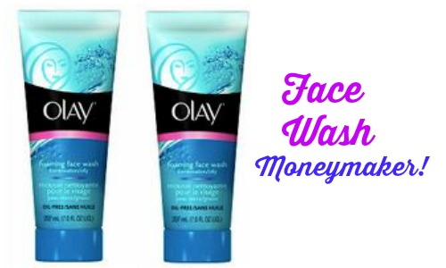olay face wash