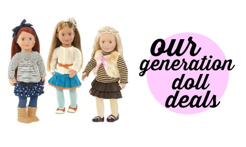 Target Deal Our Generation Doll Items 12 99 Shipped