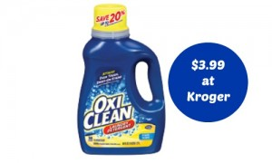 oxiclean coupon kroger