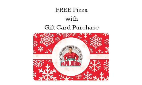 papa john's holiday offer