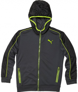 puma boys trak jacket