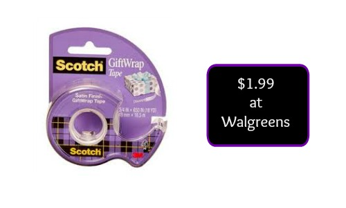 scotch tape coupon