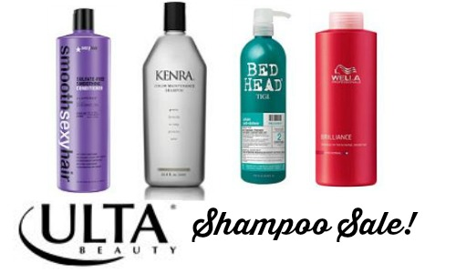 Ulta deal jumbo salon shampoo conditioner for Salon quality shampoo