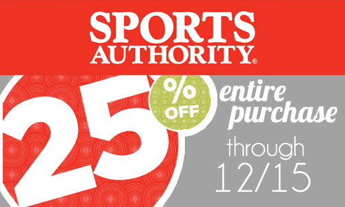 sports authority 25 off for 12 15 copy