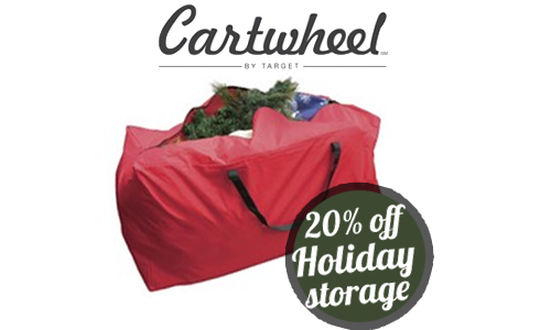 target cartwheel holiday storage