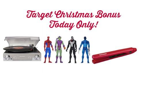 target christmas bonus