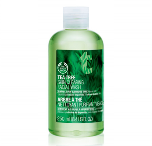 tea tree facial scrub the body shop