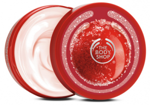 the body shop seaosnal body butter