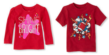 the childrens place tee shirts