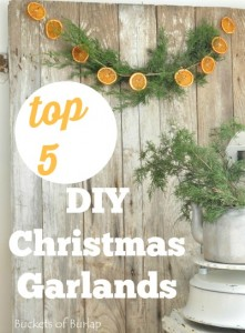 top 5 diy christmas garlands