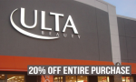 Ulta Coupon | 20% off Purchase + More Store Coupons