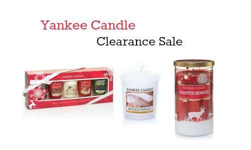 yankee candle clearance sale