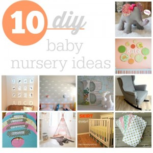 10 DIY baby nursery ideas for boys and girls