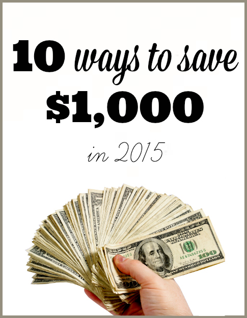 10 ways to save a thousand