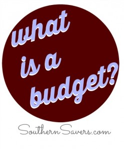 What is a budget  Getting started