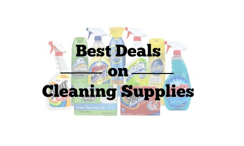 best deals on cleaning supplies
