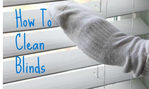 Thinking About Throwing Away Some Old Socks Not So Fast They Can Be A Great Tool For When Cleaning Blinds You Put The Sock On Like Glove And Wipe