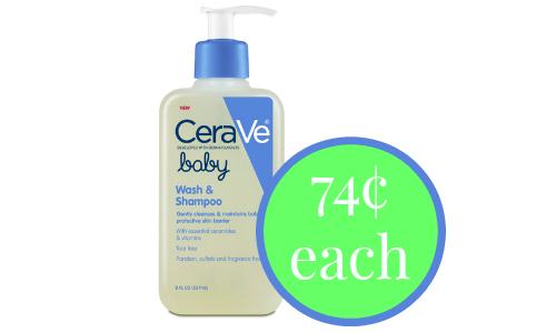 cerave baby shampoo