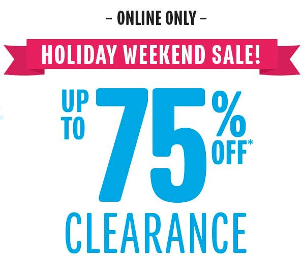 children's place clearance deals