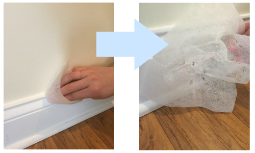 how to clean baseboards without bending cleaning base boards quick tip how to clean baseboards southern savers