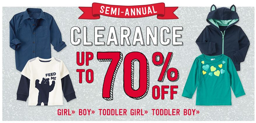 0b2c701c307b Crazy 8 Clearance Sale  Up to 70% Off + Coupon Code    Southern Savers