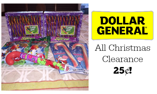 dollar general christmas clearance