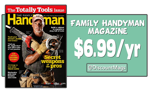 family handyman magazine 699 discountmags2