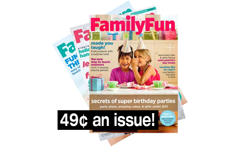 familyfun magazine 49 an issue