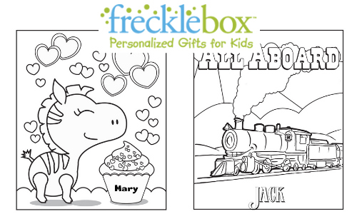 frecklebox coloring pages - free coloring printables for kids southern savers