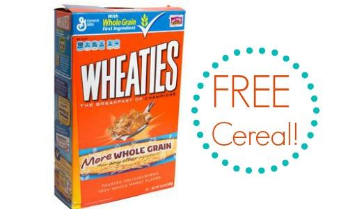 free cereal